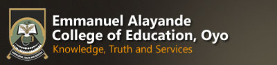 Emmanuel Alayande College Of Education Logo